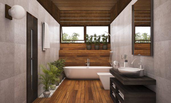 Das ökologische Badezimmer – Bau und Gestaltung